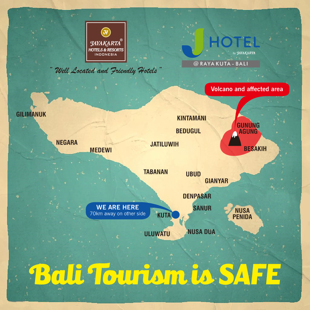 Bali Tourism is Safe Mount Agung