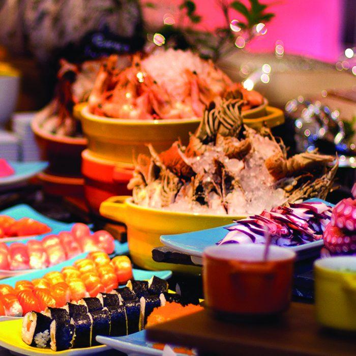 Oriental Buffet Dinner every Wednesday