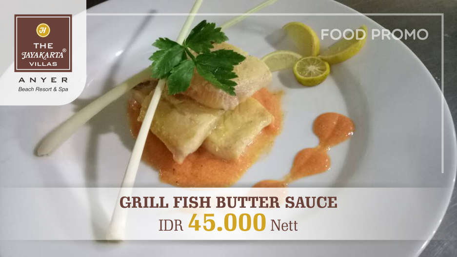 Grill Fish Butter Sauce (Food Promo)