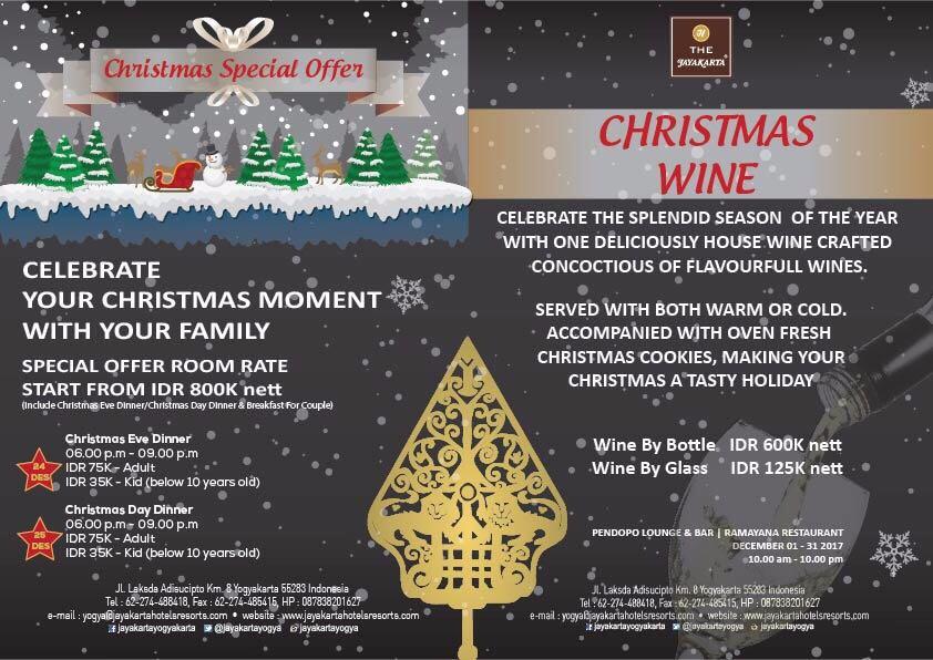 Christmas Special Offer - Jayakarta Yogyakarta
