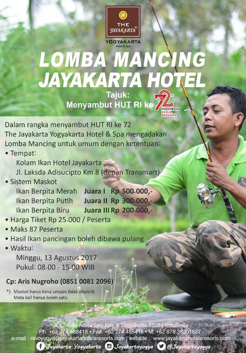 Lomba Mancing 2017 Yogya