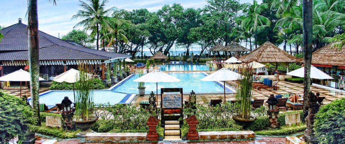 The jayakarta bali beach resort residence spa for Best beach hotels in bali