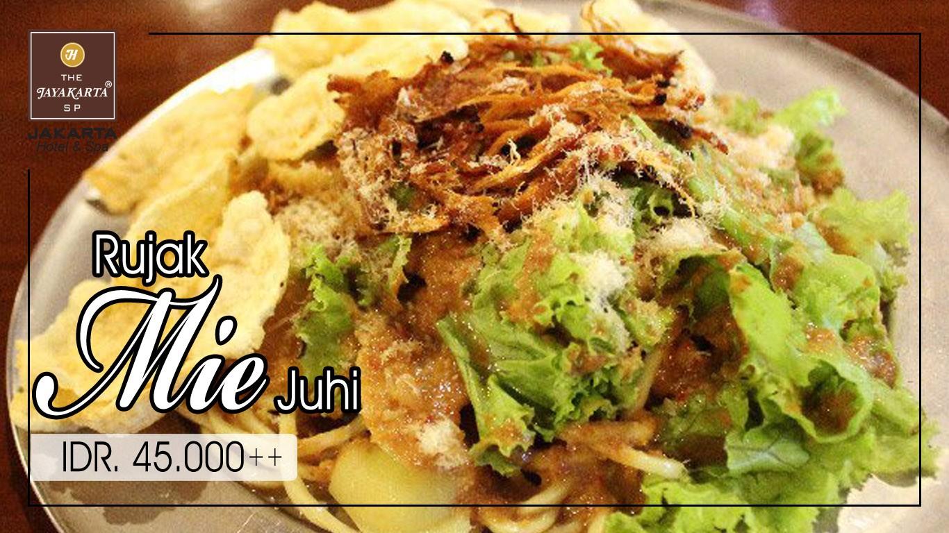HDTV layout food poster jakarta anniversary mie juhi