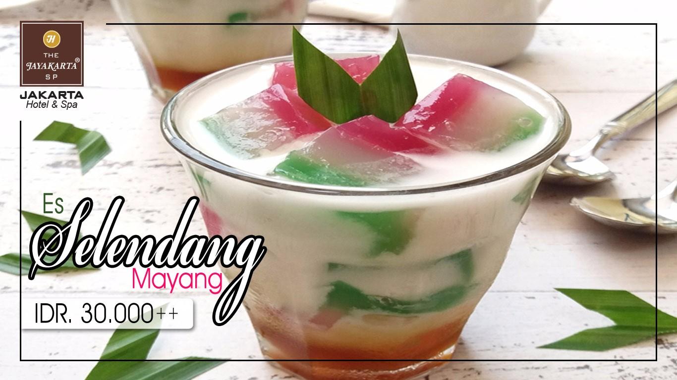 HDTV layout food poster jakarta anniversary selendang mayang