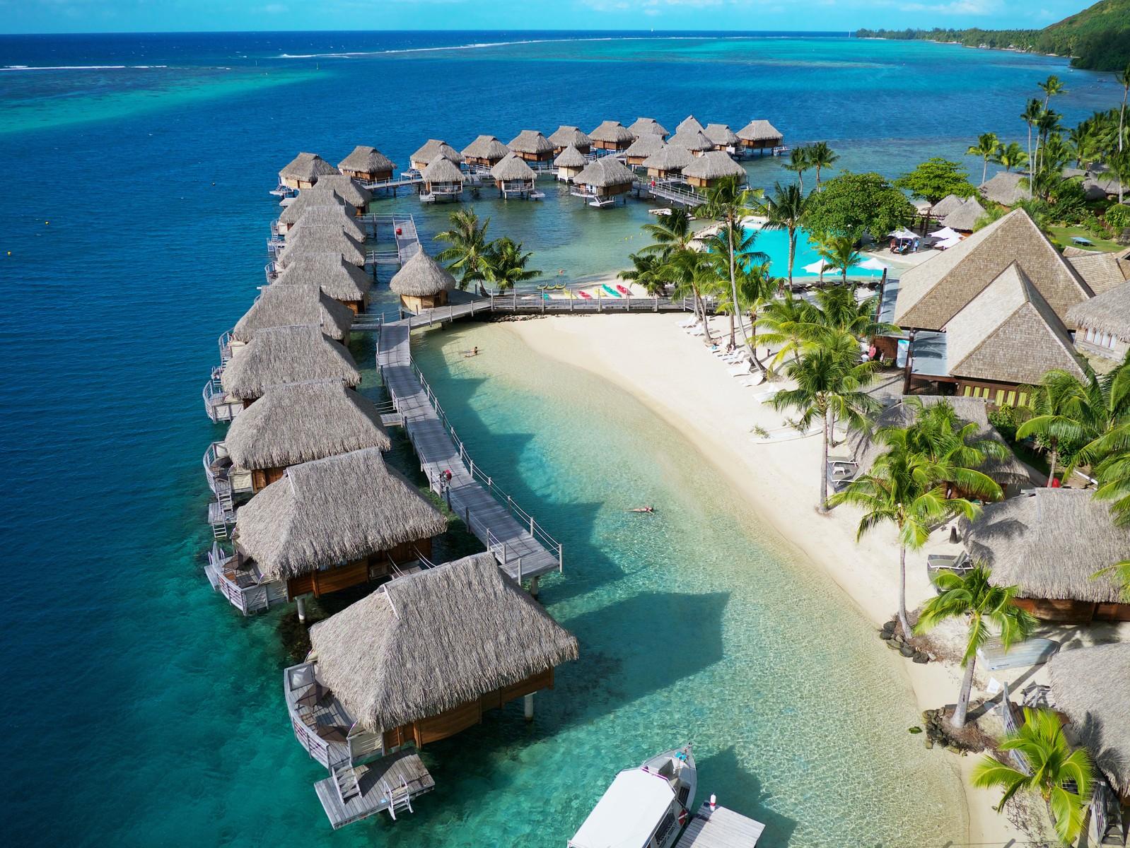 Location Manava Beach Resort Spa Hotel Moorea