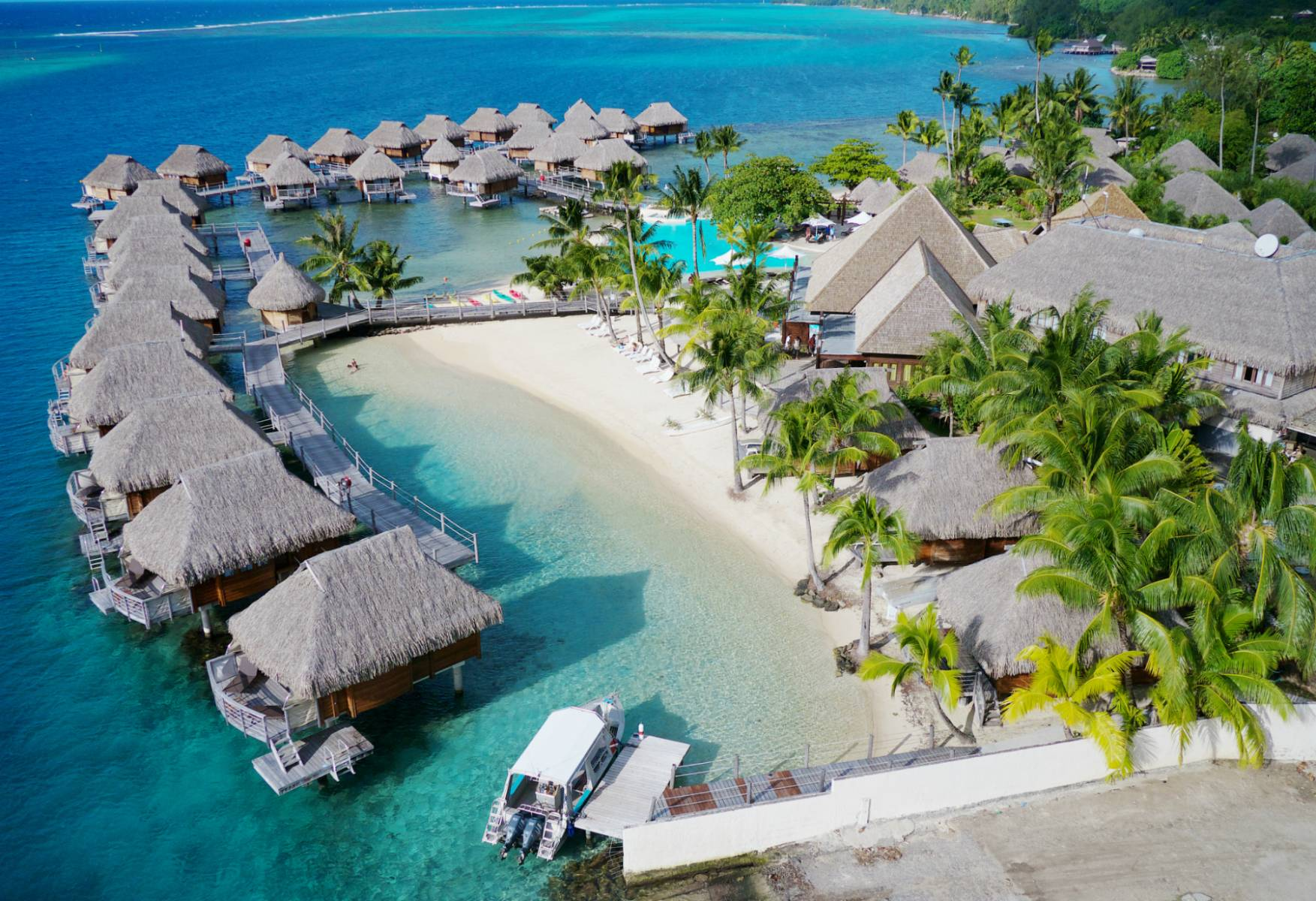Image Result For Overwater Bungalows Of Moorea