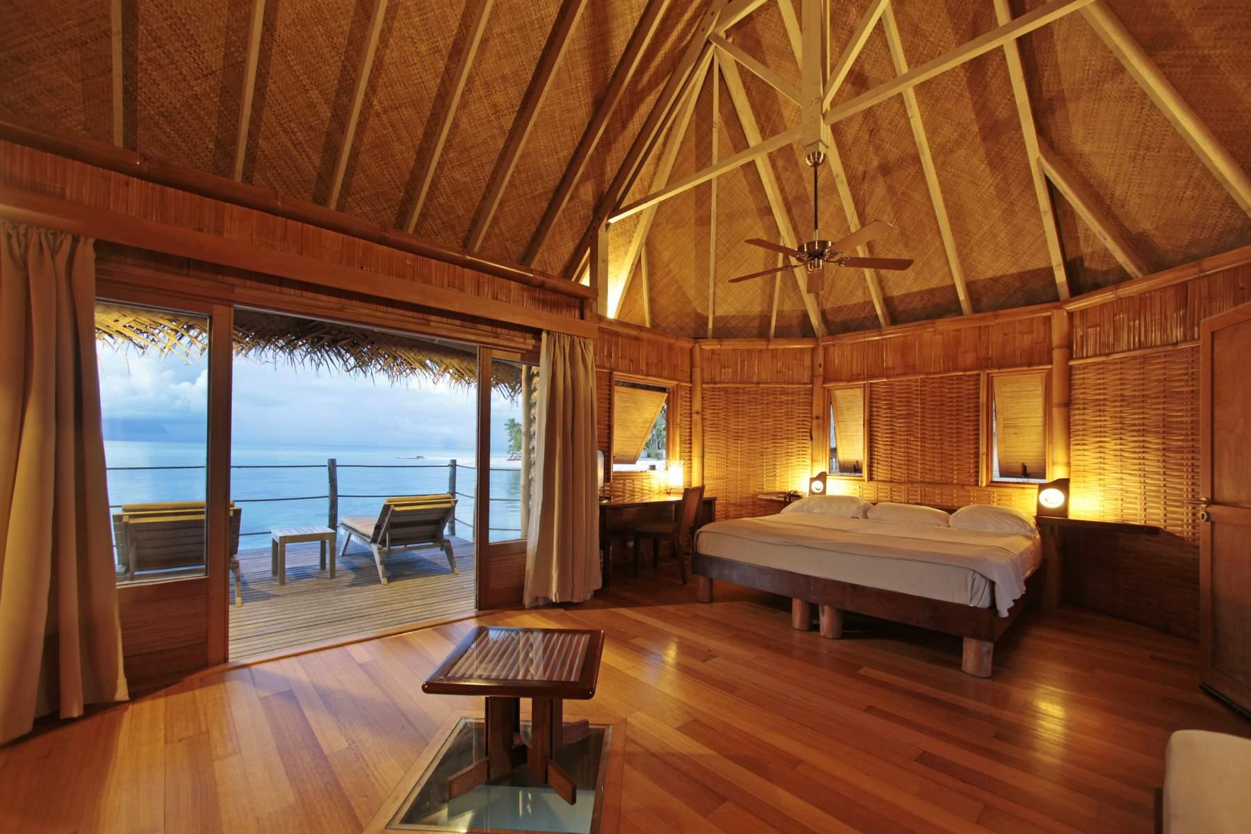 Premium Overwater Bungalow Tikehau Pearl Beach Resort