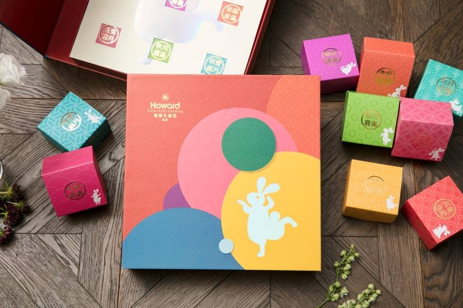 福兔盈月中秋月餅禮盒