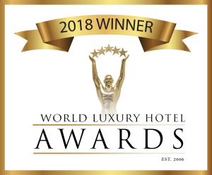 2018 Hotel Awards Winner logo (Black text, Transparent Background)