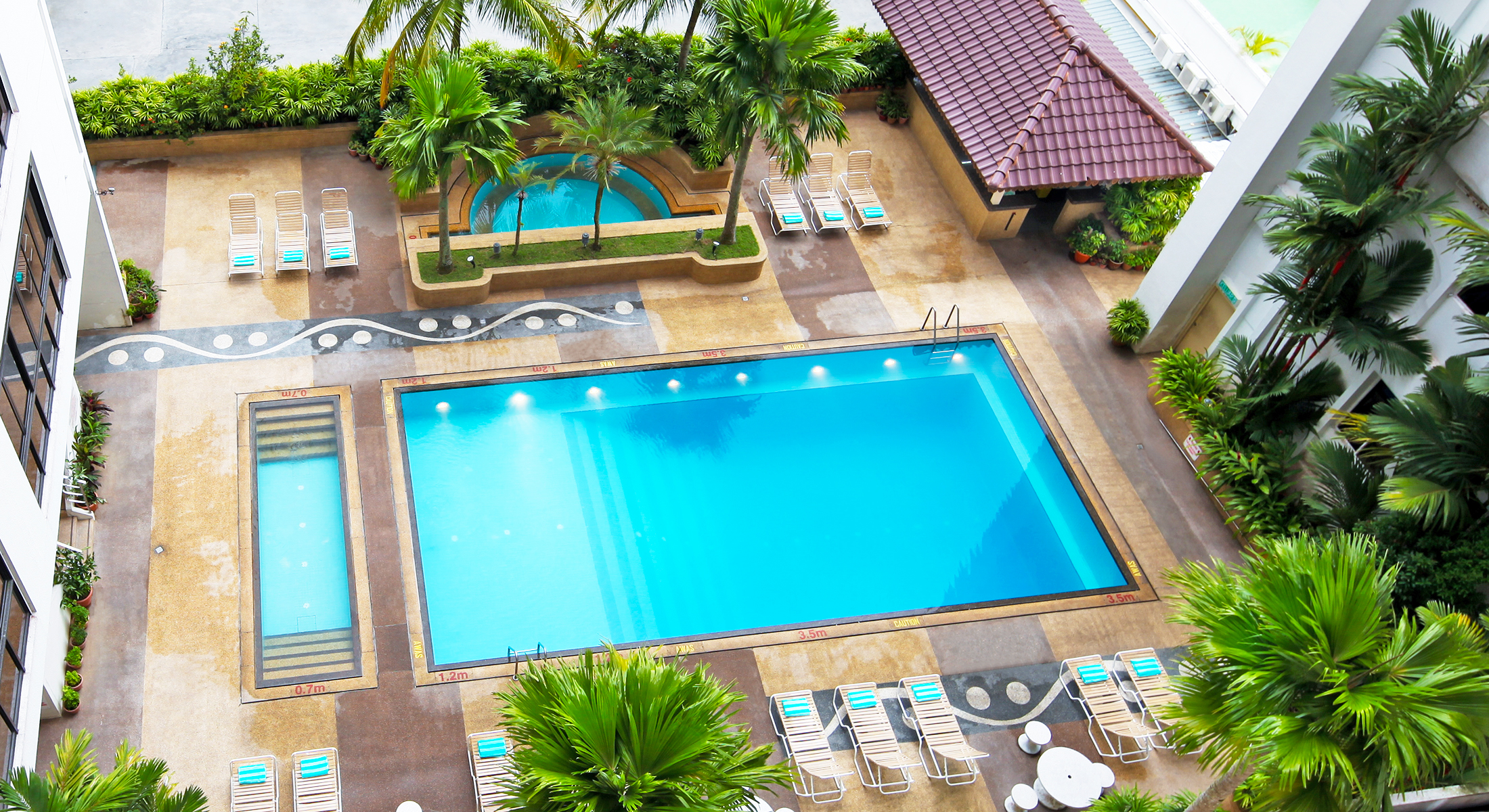 Fitness Wellness Swimming Pool Penang Hotel Bayview Hotel Georgetown Penang