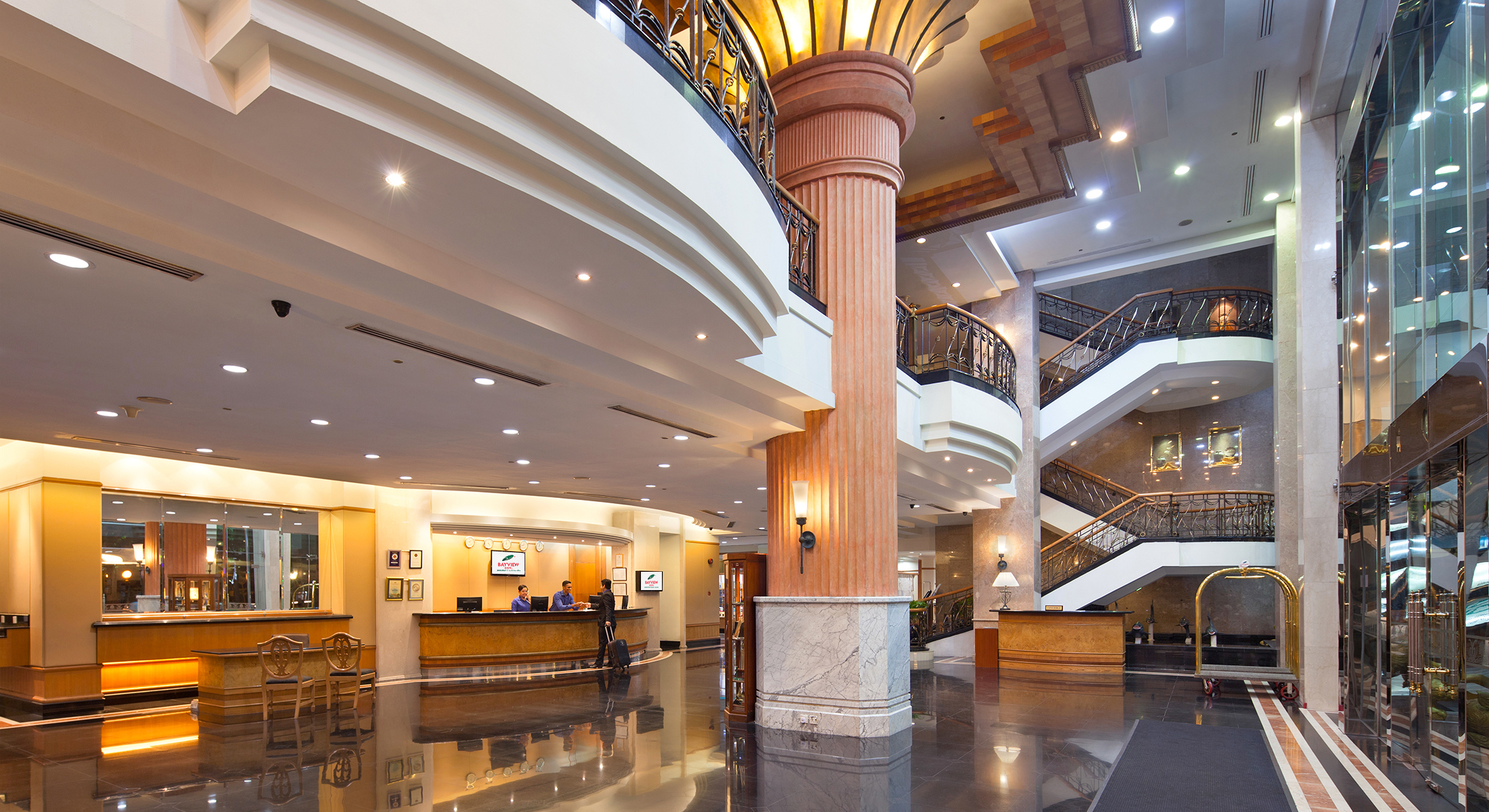 Hotel Entrance Foyer : Our hotel photo gallery penang bayview georgetown