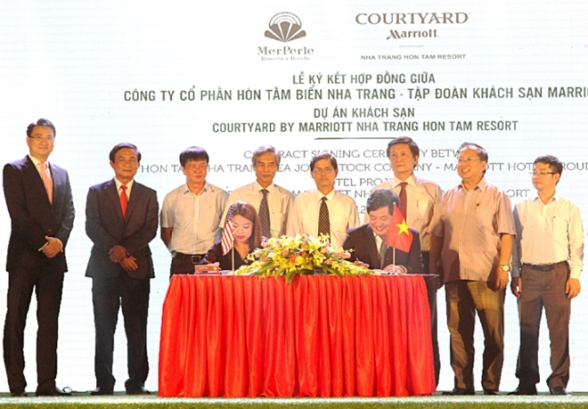 MerPerle Resorts & Hotels signed contract with Marriott International Group