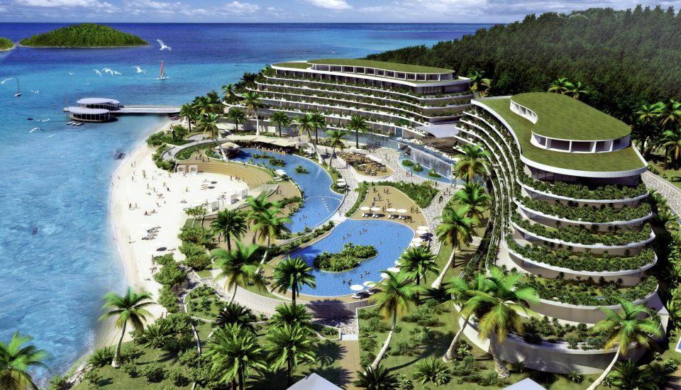 4-х звездочный проект компании Courtyard by Marriott Отель Nha Trang Hòn Tằm Resort