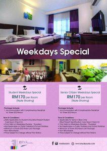 F5 Weekdays Specials