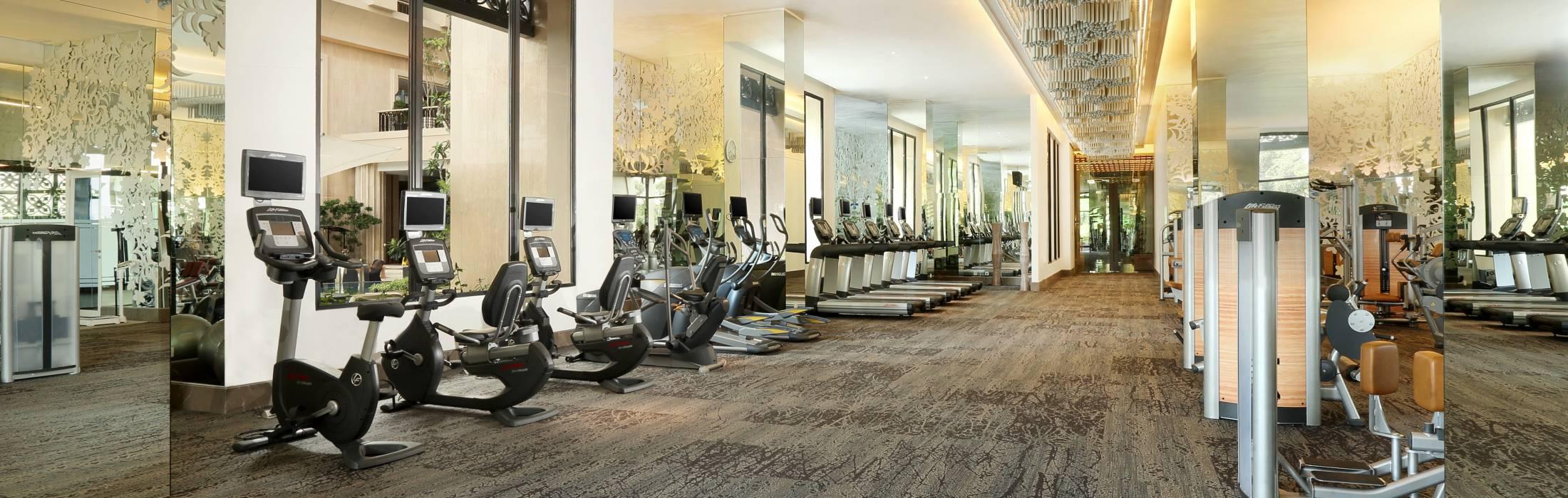 Gym in yogyakarta hotel tentrem yogyakarta