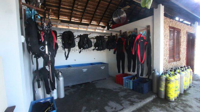 Facilities - Dive Centre