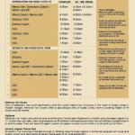 shuttle service flyer 180212