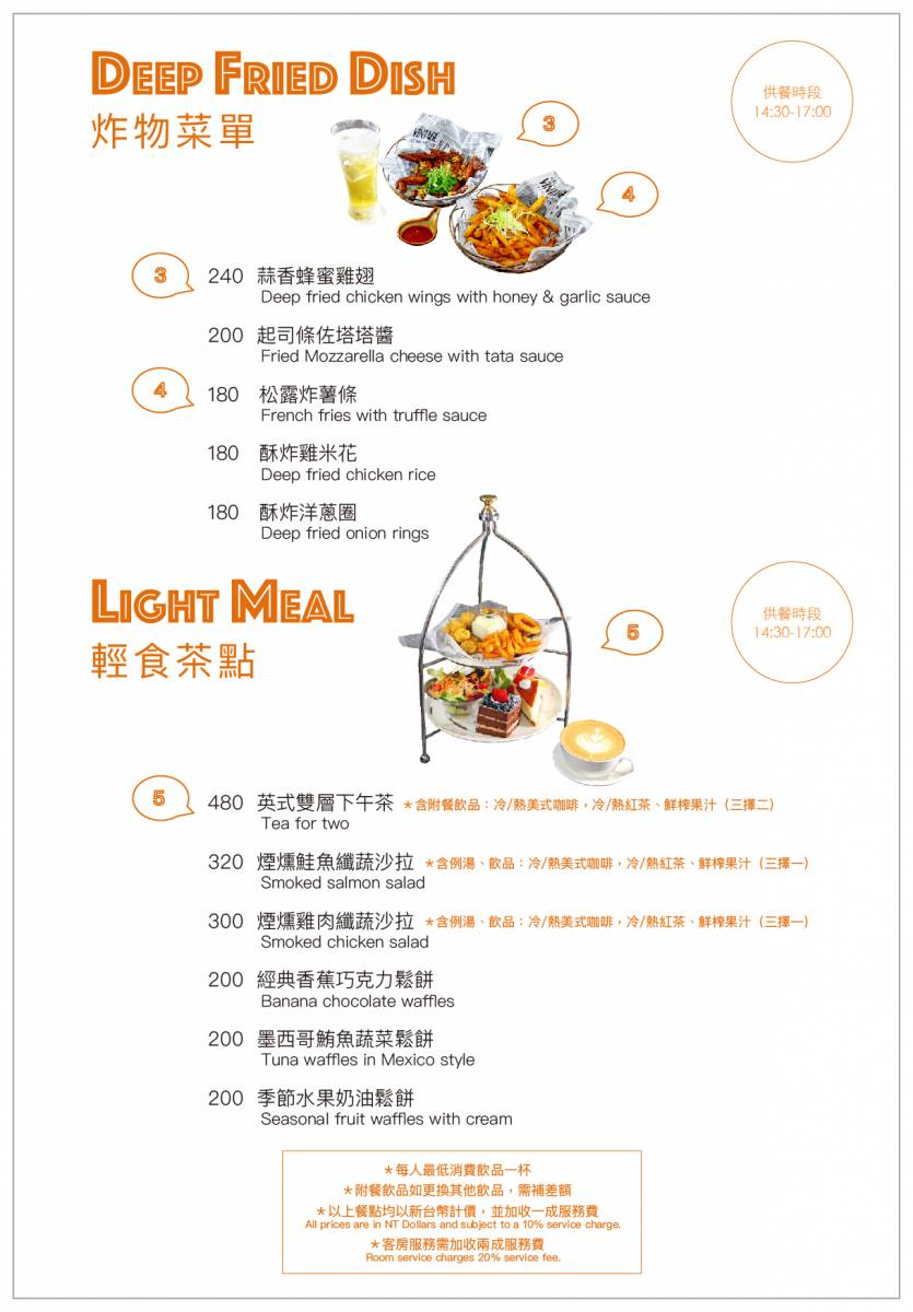 咖啡廳菜單01