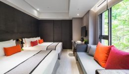 Deluxe Quad 豪華家庭房2