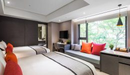 Deluxe Quad豪華客房