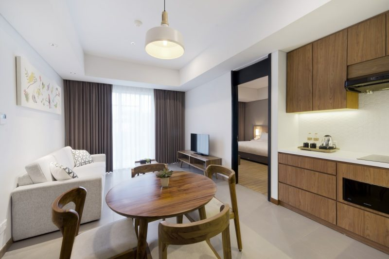 Check Our Rooms Junior Flat 1 Bedroom Bintaro Hotel