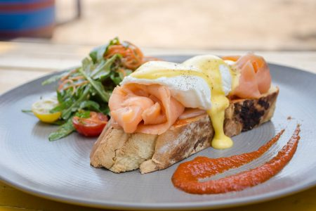 Eggs Benedict With Salmon 9