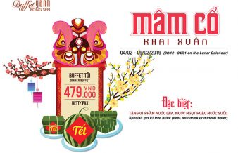 buffet gánh mâm cỗ khai xuân 2009