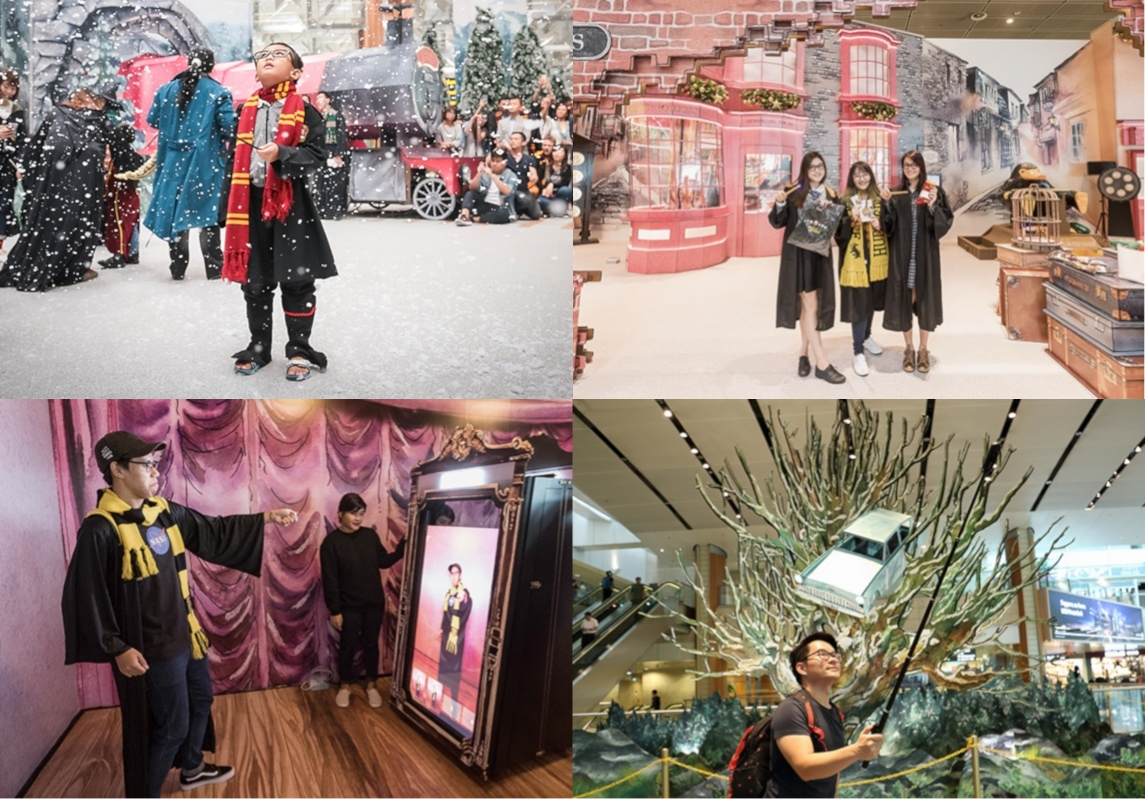 Wonderful Wizarding World at Changi Airport, Things to do in Singapore 2019 February