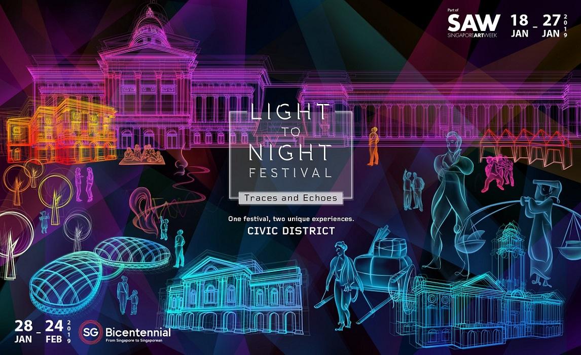 Singapore Art Week 2019 Light to Night Festival