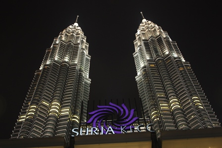 KLCC陽光廣場&Petronas雙峰塔